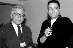 Pierre Pregnard (équipe festival) et Pierre Léon (L'ADOLESCENT)