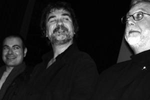 Olivier Marchal (réalisateur GANGSTERS) et Michel Alexandre (scénariste LE COUSIN)