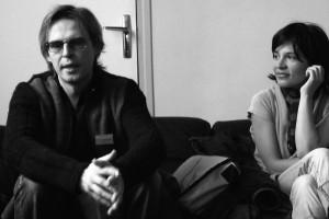 Jan Peters (BYE BYE TIGER) et Teona Mitevska (HOW I KILLED A SAINT)