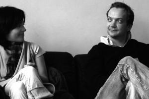 Teona Mitevska (HOW I KILLED A SAINT) et Gard Eidsvold (UN COIFFEUR JALOUX)
