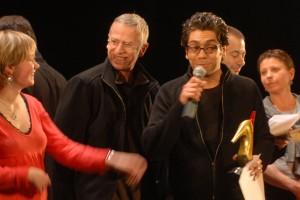 Michel Kammoun reçoit le prix spécial du jury pour FALAFEL