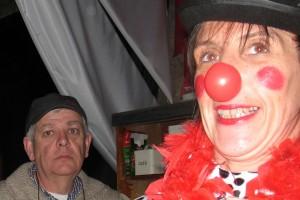 Chauffeur et clown : Pierre, Chantal