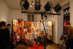 Augustin Legrand (ENFANTS DE DON QUICHOTTE - ACTE 1), invité sur le plateau de MJCrew TV