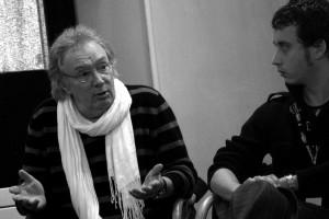 L'acteur Gilbert Sicotte (CONTINENTAL, UN FILM SANS FUSIL - Canada) et le directeur de la photo Roser Aguilar (LO MEJOR DE MI - Espagne)