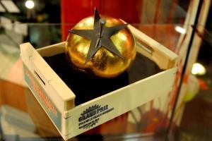 Le trophée de l'année : une tomate d'or, pour la thématique Anti-héros
