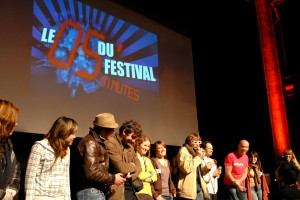 L'équipe de MJCrew TV, le magazine vidéo du Festival