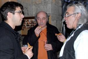 Sébastien, Serge, Bruno (équipe Presqu'ile)