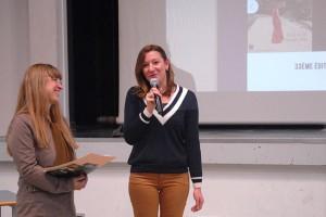 Mercredi 20 janvier à la MJC, présentation publique du Festival : Emilie Verdier, créatrice de l'affiche