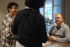 Dimanche 7 février, rencontre au Domaine de St-Clair, séance dédicace avec Dominique Besnehard