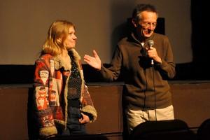 Mardi 9 février, Lucie Borleteau présente son film FIDÉLIO, L'ODYSSÉE D'ALICE, film coup de coeur de Patrice Leconte