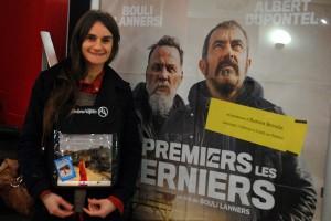 Mercredi 10 février, la comédienne Aurore Broutin présente le film de Bouli Lanners LES PREMIERS LES DERNIERS