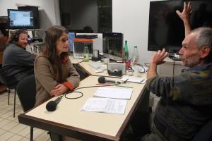 Mediapop : Aurore Broutin au micro de Radio d'ici