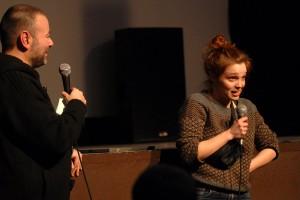 Jeudi 11 février, les membres des jurys sont présentés au Théâtre : la comédienne Solène Rigot est présidente du jury lycéen