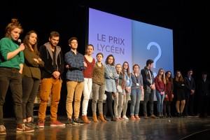 Dimanche 14 février, cérémonie de remise des prix au Théâtre : le prix lycéen...