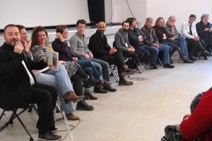 Dimanche 14 février, rencontre avec les invités de la compétition à la MJC