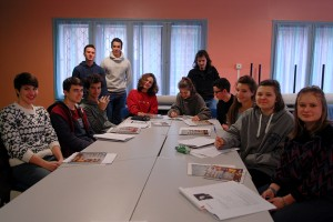 Première rencontre du jury des lycéens
