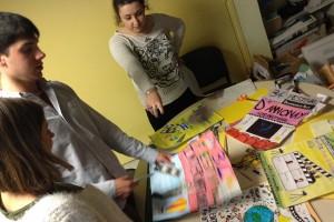 """Atelier création d'affiche pour les classes de cycle 3 participant au dispositif """"Mon premier film"""""""