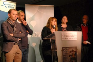 Inauguration officielle : Marianne Ferrand, directrice du Festival et de la MJC d'Annonay