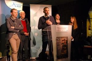 Inauguration officielle : Simon Plénet, président d'Annonay Agglo