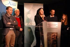 Inauguration officielle : Virginie Ferrand, Région Auvergne-Rhône-Alpes