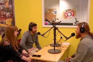 """Invité """"Nouveaux Talents"""" pour PARIS LA BLANCHE et NOCES, Sébastien Houbani au micro de Radio d'ici"""