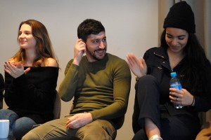 Joséphine Japy, Sébastien Houbani, Lina El Arabi