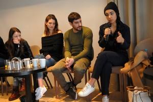Luna Lou, Joséphine Japy, Sébastien Houbani, Lina El Arabi