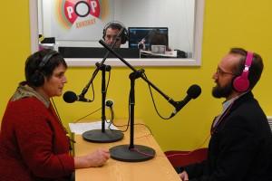 David Meadeb, coordinateur artistique d'Emergence, est l'invité de Radio d'ici dans les locaux Mediapop