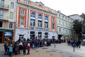 Croisement des publics scolaires au Théâtre