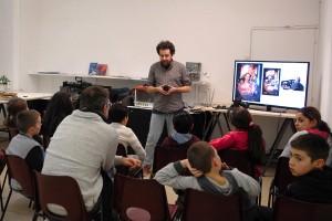 """Atelier découverte des techniques du cinéma pour les classes de cycle 3 participant au dispositif """"Mon premier film"""""""