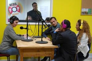 Au micro de Radio d'ici : Laurent Aït Benella, Nawal et Abou Lagraa