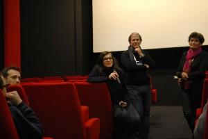 SWAGGER, présenté par sa productrice Marine Dorfmann et Didier Besnier de la Maison de l'Image d'Aubenas