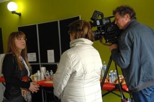Reportage de France 3, interview de Marianne Ferrand, directrice du Festival