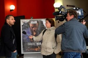 Reportage de France 3, interview de Safy Nebbou, président du jury du Festival