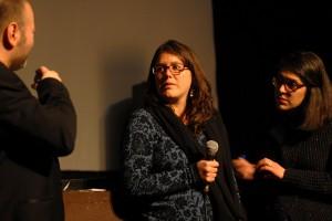 ALBA, en présence de sa productrice Isabella Parra