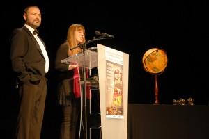 Soirée de remise des prix présentée par Marianne Ferrand, directrice du Festival et Gaël Labanti, directeur artistique