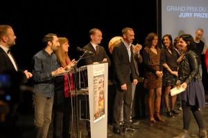 Soirée de remise des prix : IIN BETWEEN / JE DANSERAI AVEC VOUS, grand prix du jury