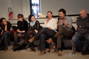 À la MJC, rencontre entre tous les invités des 9 premiers films en compétition