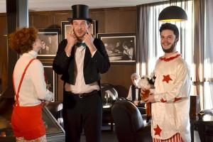 L'équipe de Téla tourne un clip au Domaine de St-Clair