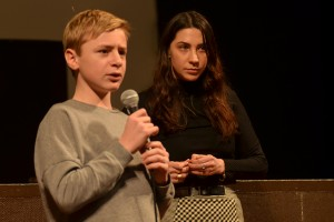 JUSQU'À LA GARDE, en présence des jeunes comédien-ne-s Thomas Gioria et Mathilde Auneveux