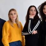 Anamaria Vartolomei, Laetitia Clément, Mathilde Auneveux et Myriam Mansouri