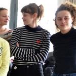 Thomas Gioria, Diane Rouxel, Mathilde Warnier et Alice de Lencquesaing