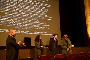 DE TOUTES MES FORCES, en présence du réalisateur Chad Chenouga, du comédien Khaled Alouach et de la comédienne Myriam Mansouri