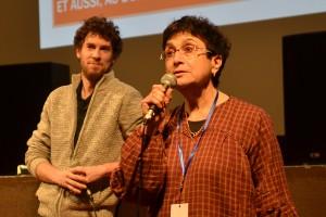 Yoann Veyrat, mixeur du film WALLAY, présenté par Claudine