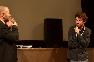 Yoann Veyrat, mixeur du film WALLAY