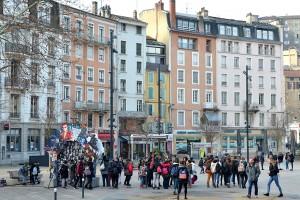 Place des Cordeliers, l'arche du Festival