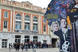 Une grande partie des projections ont lieu au Théâtre des Cordeliers