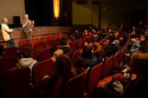 LES TRIPLETTES DE BELLEVILLE en séance scolaire, en compagnie du réalisateur Sylvain Chomet