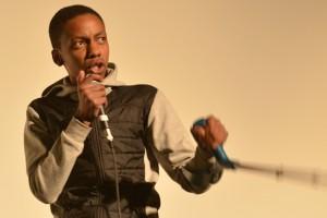 Séquence rap en avant-séance de PATTI CAKE$