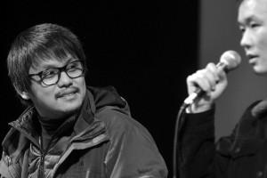 Tan Seng Kiat, réalisateur malésien de SHUTTLE LIFE, et son traducteur (oups j'ai oublié son nom... à venir...)